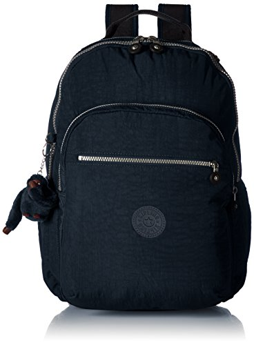 Kipling Seoul Go Laptop, Padded, Adjustable Backpack Straps, Zip Closure, True Blue (Kipling Laptop)