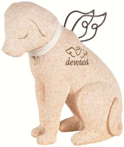 Bereavement Faithful Angel Memory Memorial Dog Pet Figurine Statue by Carson Home 14211