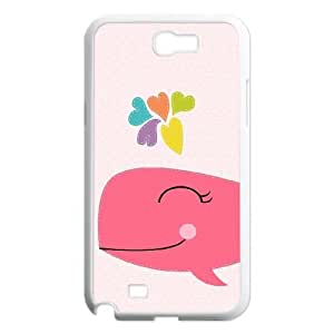Custom Cover Case with Cute Animal for Samsung Galaxy Note 2 N7100 at Hushell