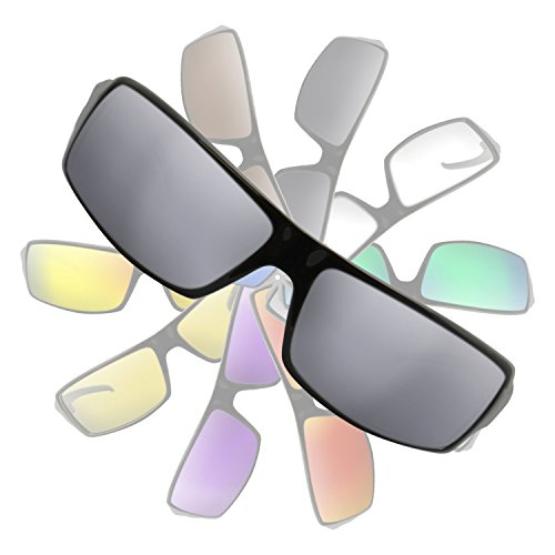 Metallic Silver Mirror Replacement Lenses for Electric ec - Ec/dc Sunglasses Electric