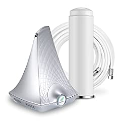 Boost your cell signal in your home with the SureCall Flare. The SureCall Flare 4G booster kit is an easy-to-use cell phone signal booster for home. It boosts 4G, LTE, and 3G signal speed for all carriers and phones. Bundled with an easy-to-i...