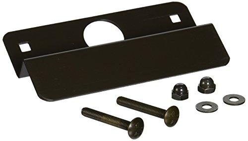 Donjo Latch (Don-Jo OLP-2650 12 Gauge Steel Latch Protector, Dura coated, 2-5/8