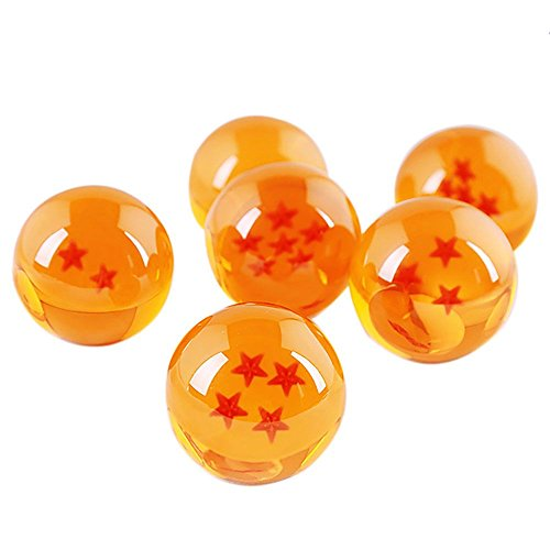 3.5CM Dragon Ball Z In Box 7 Stars Crystal Balls Set of 7pcs Complete Set