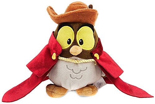 Official Disney Sleeping Beauty Animator Collection 16cm Owl Soft Plush Toy