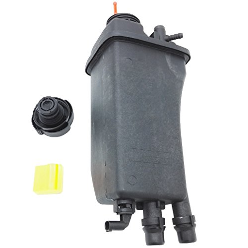 Bmw Engine 525i (OKAY MOTOR Engine Coolant Reservoir Expansion Tank + Cap + Sensor for BMW E39 525i 528i 530i)