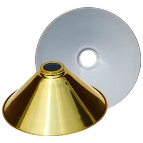 (Sterling Solid Brass 14 Inch Replacement Cone Shade)