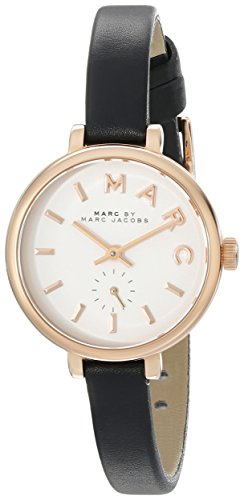 Marc by Marc Jacobs Women's MBM1352 Analog Display Analog Quartz Black Watch