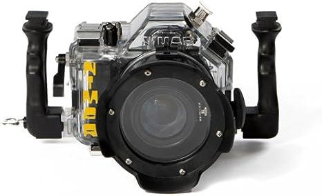 Carcasa acuatica estanca hasta 60m reflex Canon 550D kit EF-S 18 ...
