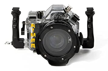 Carcasa acuatica estanca hasta 60m reflex Canon 550D kit EF ...