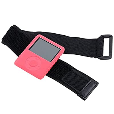 Theo&Cleo BLACK Gym ARMBAND ARM BAND Sportband FOR IPOD NANO MINI SHUFFLE 1st 2nd 1 2 Gen by Theo&Cleo