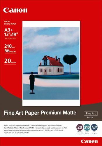 Canon Premium Fine Art (Canon Photo Paper Premium Matte, 13 x 19 Inches, 20 Sheets (1263B007))