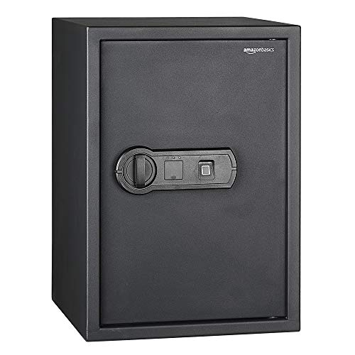 AmazonBasics Biometric Fingerprint Safe - 1.8-Cubic Feet (Amazon Gun Safe)