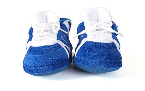Comfy Feet DUK03PR - Duke Blue Devils NCAA Happy Feet Baby Slippers - Image 2