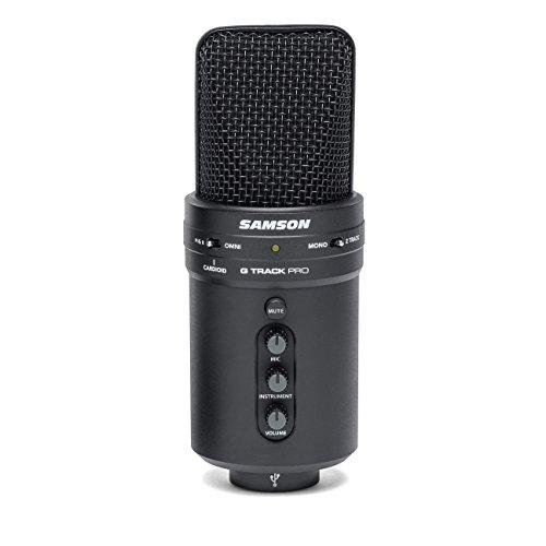 Samson G-Track Pro Studio USB Condenser Mic, Black by Samson Technologies (Image #6)