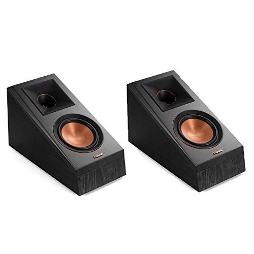 Klipsch RP-500SA Dolby Atmos Surround Sound Speakers (Ebony)