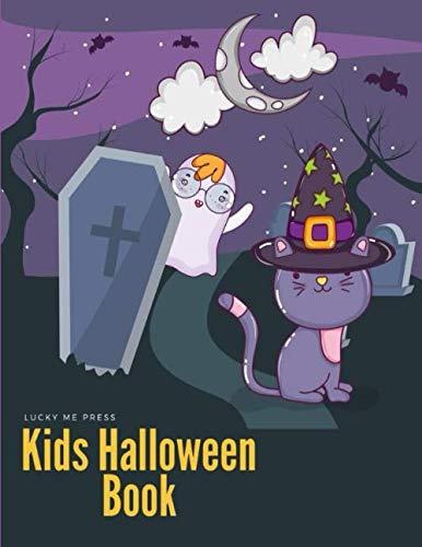 Halloween Toddler Worksheets (Kids Halloween Book: Coloring pages for kids, preschool, children,kindergarten to create amazing pictures (Color)