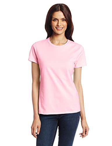 Hanes Women's Nano T-Shirt, Large, Pale -