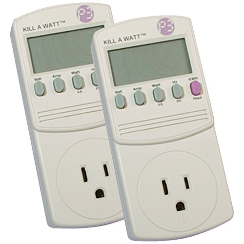 P3 815825012707  Kill A Watt Electricity Usage Monitor, 2-