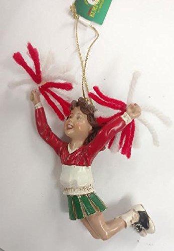 (Girl Cheerleader Ornament 4)