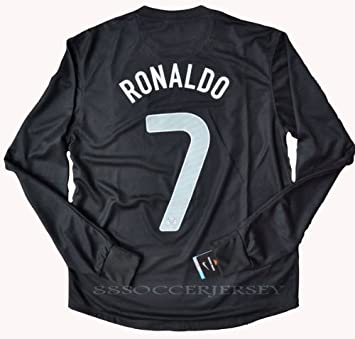 innovative design 12103 c9a93 2013 RONALDO 7 Long Sleeve Portugal Away Soccer Jersey Football Shirt