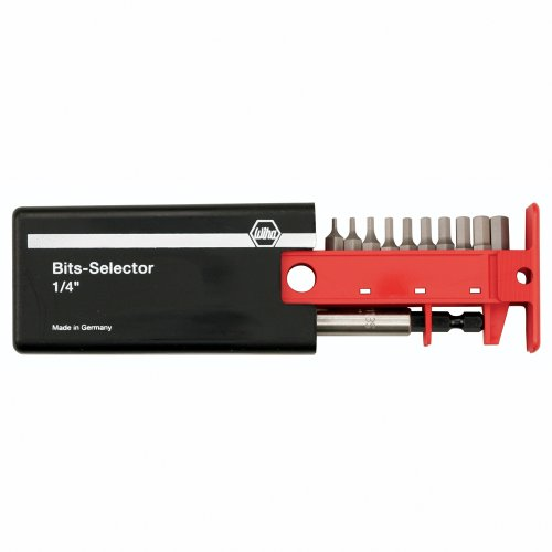 - Wiha 79246 Bit Selector with Hex Inch Bits