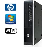 HP 8000 Elite Ultra-Slim PC - Intel Core 2 Duo 3.0GHz, 4GB DDR3, NEW 120GB SSD, Windows 7 Professional 32-Bit, WiFi, DVD-ROM (Prepared By ReCircuit)