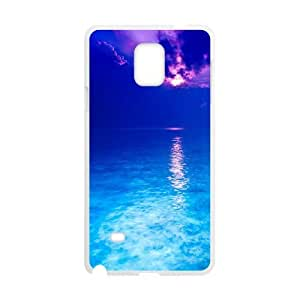 Sea Samsung Galaxy Note 4 Cell Phone Case White Qnsse