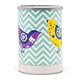 scentsy glass dish - Chevrons and Songbirds Full Size Scentsy Lamp Shade Warmer