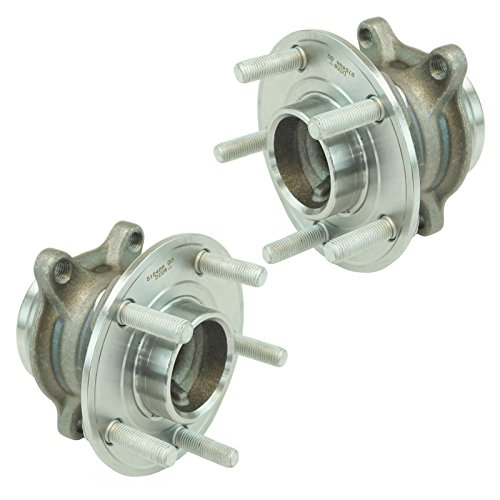 Wheel Bearing & Hub Assembly Driver & Passenger Rear Pair for Ford Focus