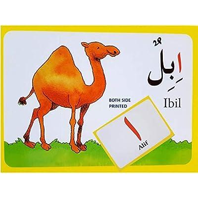 Arabic Alphabet Flash Cards Bonus/Free Alif BaTa Wooden Puzzle Free Arabic Alphabets Islamic Learning for Kids Ramadan Gift Muslim Holy Quran Gifts-Islamic Gifts 123 Free Puzzle Free Puzzle Free Free: Toys & Games