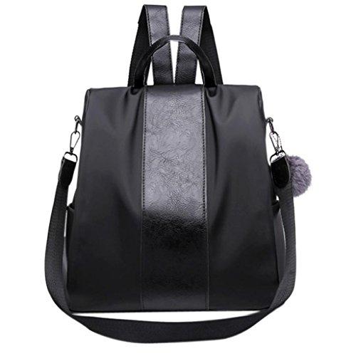 voyage de messager sac Main à sac sac dos de bandoulière Sac Cabas femmes Casual à Femme main mode à d'Oxford d'étudiant Mode Noir de JIANGfu mode Sac Sac Femme 8qIwzZR