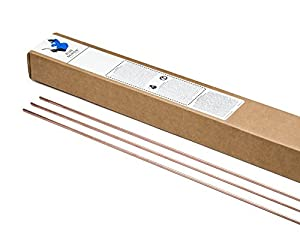"Blue Demon ER70S-2 x .030 x 36"" x 10# Box Premium Carbon Steel Tig Welding Rod from Blue Demon"