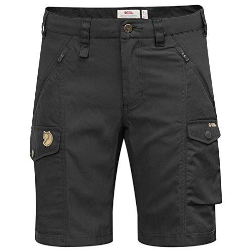 Curved Mujer Fjallraven Corto W Black Nikka 38 Pantalón Shorts xqxYTEgwH