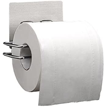 toilet tissue holder. Livebox Toilet Paper Holder Self Adhesive Bathroom Kitchen Tissue Dispenser Roll Hanger Wall Mount