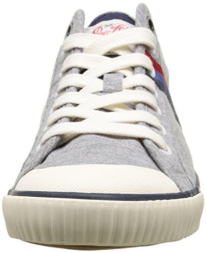Marl Grey Herren Pepe Jersey Industry 933 Grau Jeans Gris Teen Sneaker qIwIz6v