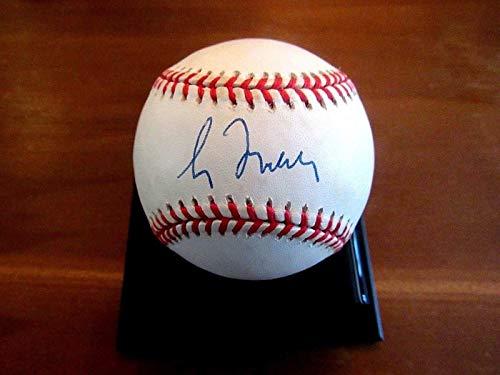 Greg Maddux Autographed Baseball - Greg Maddux Signed Baseball - 4x Cy Young Hof Wsc Cubs Vtg Onl - JSA Certified - Autographed Baseballs
