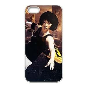 Mirror's Edge iPhone 5 5s Cell Phone Case Whitepxf005-3759965