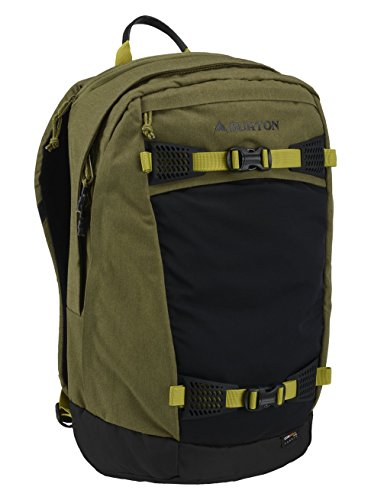 Burton Multi-Season Day Hiker 28L Hiking/Backcountry Backpack, Olive Drab Cotton Cordura, One Size