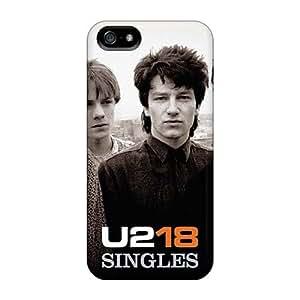 DrawsBriscoe Iphone 5/5s Bumper Hard Phone Cover Customized Vivid U2 Skin [UFD9533CIww]