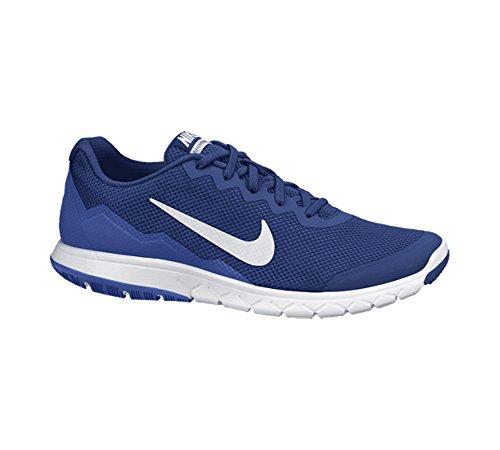 Nike Flex Experience RN 4, Zapatillas de Running Para Hombre Deep Royal Blue/Game Royal/White