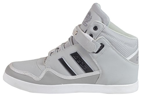 Shoes 43 45 Grigio Bianco Street Robinson 42 da pelle 40 Street in 41 viaggio Top Scarpe High 44 zanZ8Oqq