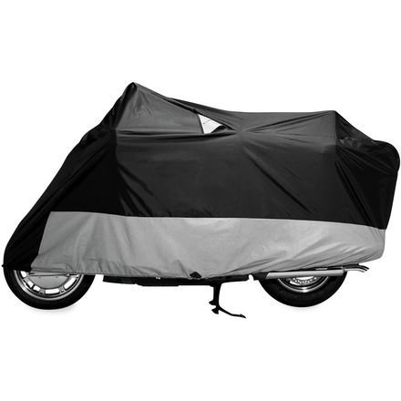 DOWCO Guardian WeatherAll Plus Motorcycle Cover (BLACK) (Weatherall Plus Motorcycle Cover)