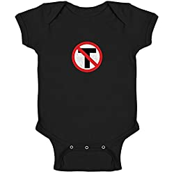 Pop Threads Anti-Trump Resistance Black 6M Infant Bodysuit