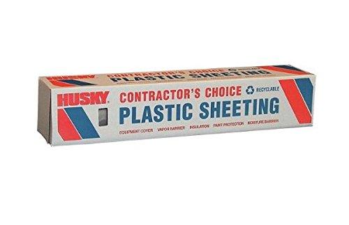 POLY-AMERICA CF0620-50C Polyethylene Sheet, 20'' x 50'', Clear