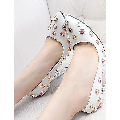 Mejor ggx de zapatos de mujer otoño tacón señaló Toe tacones fiesta y tarde  9918a7b7e0b2