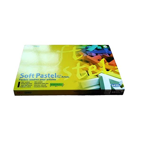 Mungyo-Soft-Pastel-64-Color-Set-Square-Chalk-US-English-Version