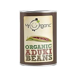 Mr Organic Aduki Beans 400g - Pack of 2