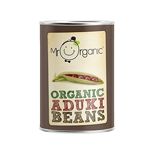 Mr Organic Aduki Beans 400g - Pack of 6 by Mr Organic