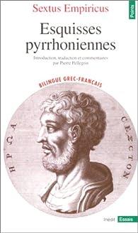Esquisses pyrrhoniennes par Sextus Empiricus