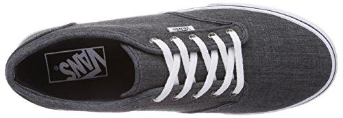 Sneaker linen Fho Black Atwood Vans w grau Grigio Basse Donna 7gx1WqT5w